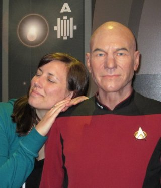really I'm just jealous that she got to see Picard.